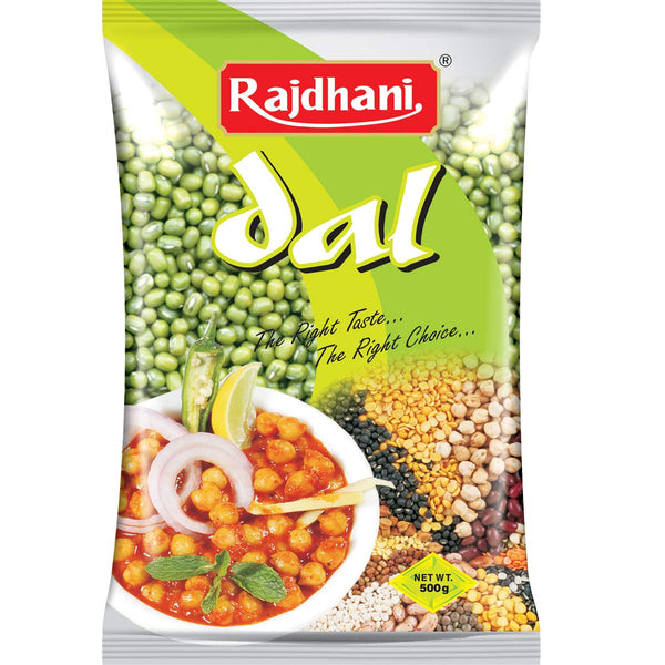 Rajdhani Moong Sabut   500 GM