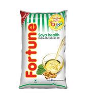 Fortune Soyabean Refined Oil Pouch   1 LTR