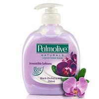 Palmolive Naturals Irresistible Softness Liquid Handwash Black Orchid & Milk   250 ML