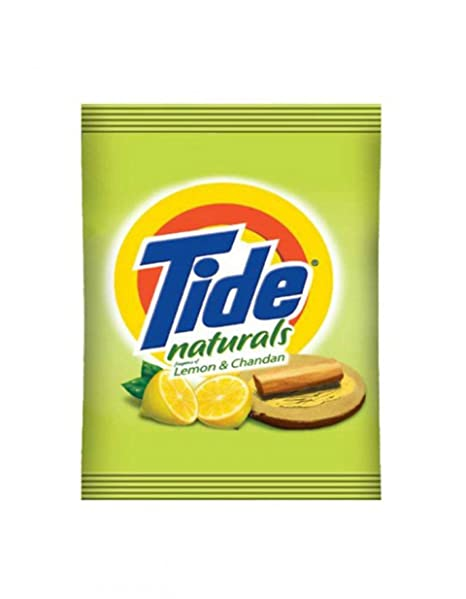 Tide Naturals Lemon & Chandan Detergent Powder   1 KG