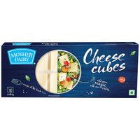 Mother Dairy Cheese Cubes   180 GM (10 Units)