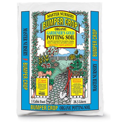 Bumper Crop® Organic Potting Soil (Blue Bag)