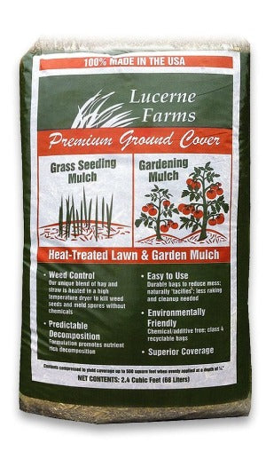 Premium Ground Cover Straw & Hay Mulch