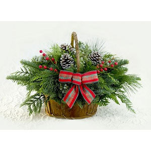 Evergreen Centerpieces