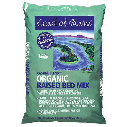 Coast of Maine™ Organic Raised Bed Mix