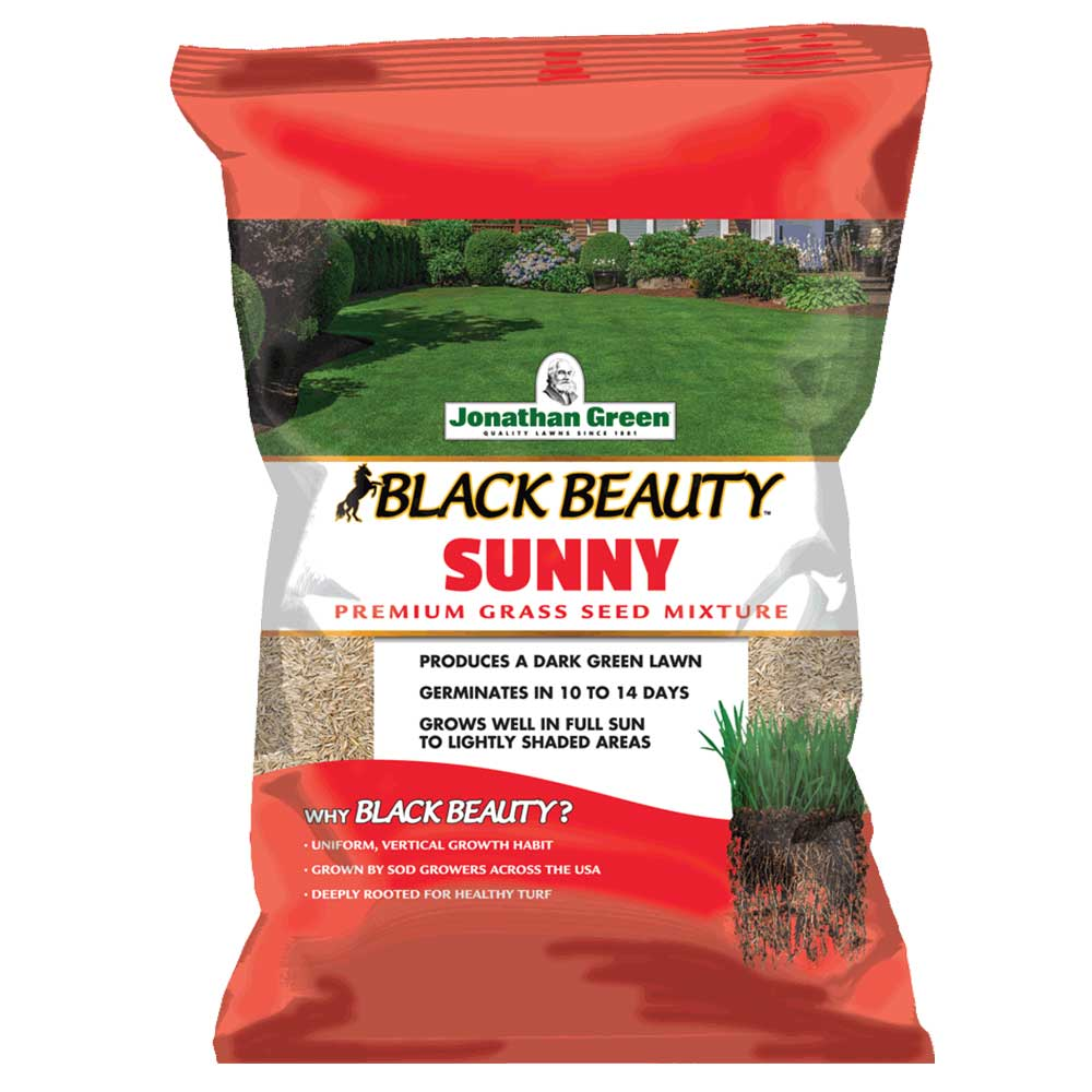 Jonathan Green Black Beauty® Sunny Grass Seed
