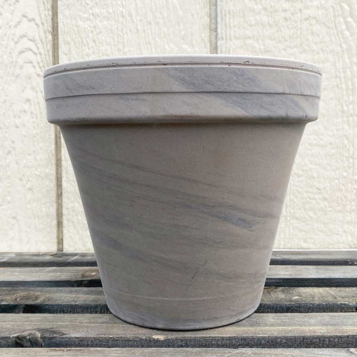 Gray Marbled Clay Pots