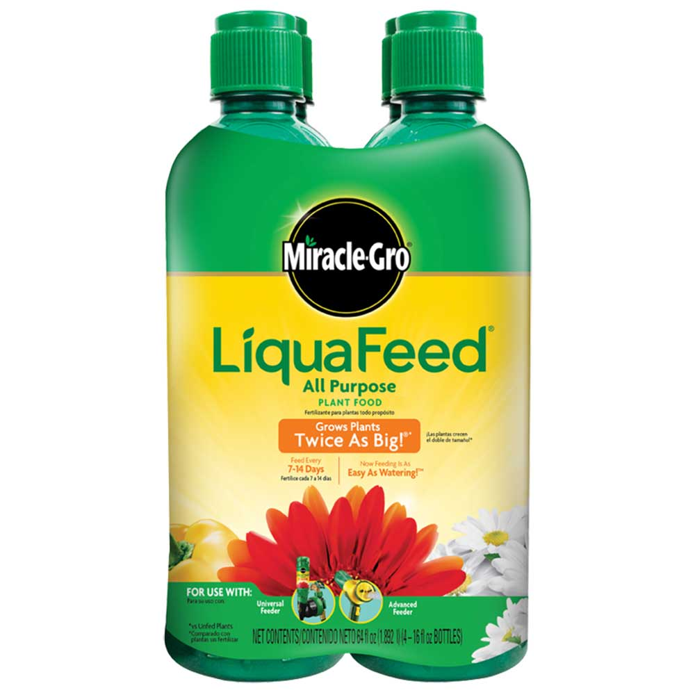 Miracle-Gro® Liquafeed® All Purpose Plant Food (4-pack)