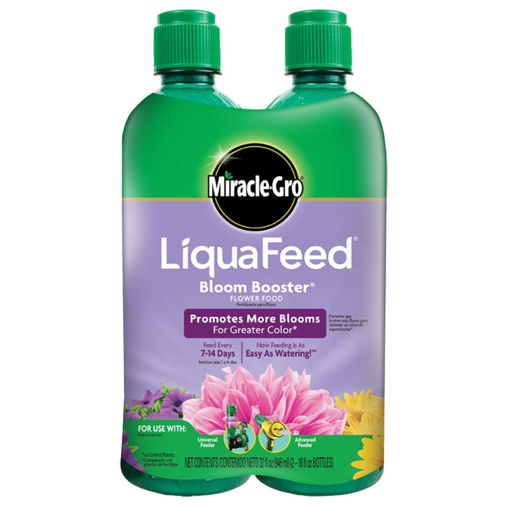 Miracle-Gro® LiquaFeed® Bloom Booster® Flower Food (2-pack)