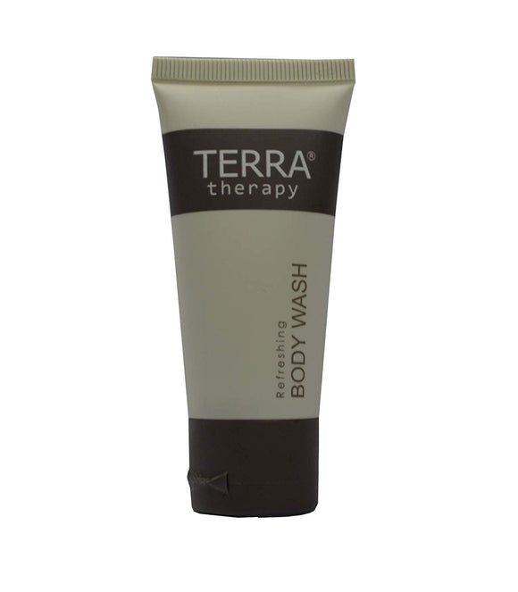 Terra Therapy Body Wash, 1 oz. With Organic Honey And Aloe Vera (Case of 300)