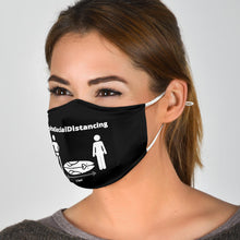 Load image into Gallery viewer, #AlohaSocialDistancing Series Mask Black Logo M - ALOHA GIRL STYLE