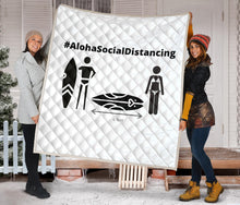 Load image into Gallery viewer, Premium Quilt #AlohaSocialDistancing Series - ALOHA GIRL STYLE