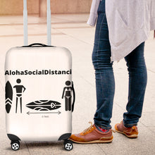 Load image into Gallery viewer, Luggage Covers #AlohaSocialDistancing Series - ALOHA GIRL STYLE