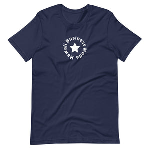 Short-Sleeve Unisex T-Shirt Hawaii Business Mode Lone Star Round Version - ALOHA GIRL STYLE