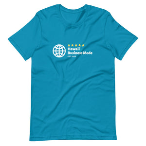 Short-Sleeve Unisex T-Shirt Hawaii Business Mode Official Logo Various Colors - ALOHA GIRL STYLE