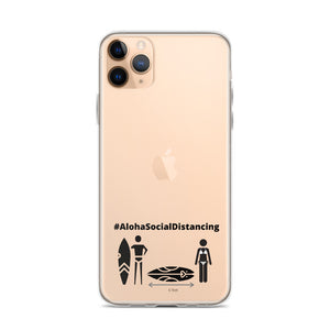 iPhone Case #AlohaSocialDistancing Series - ALOHA GIRL STYLE