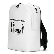 Load image into Gallery viewer, Minimalist Backpack #AlohaSocialDistancing - ALOHA GIRL STYLE