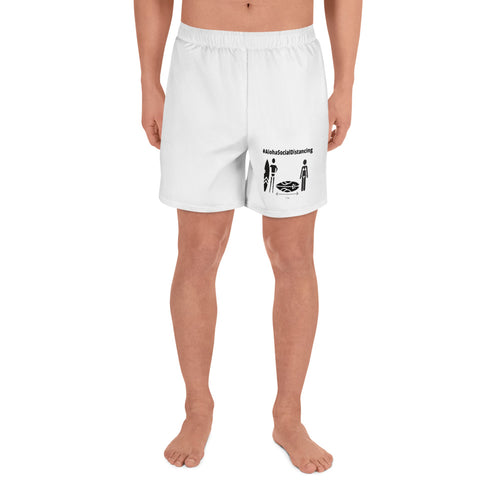 Men's Athletic Long Shorts #AlohaSocialDistancing Series - ALOHA GIRL STYLE