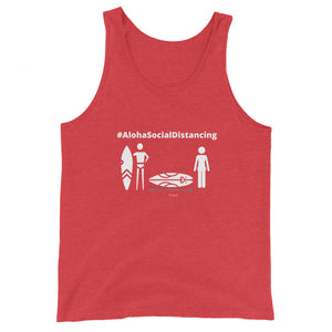 Unisex Tank Top #AlohaSocialDistancing Series Various Colors - ALOHA GIRL STYLE