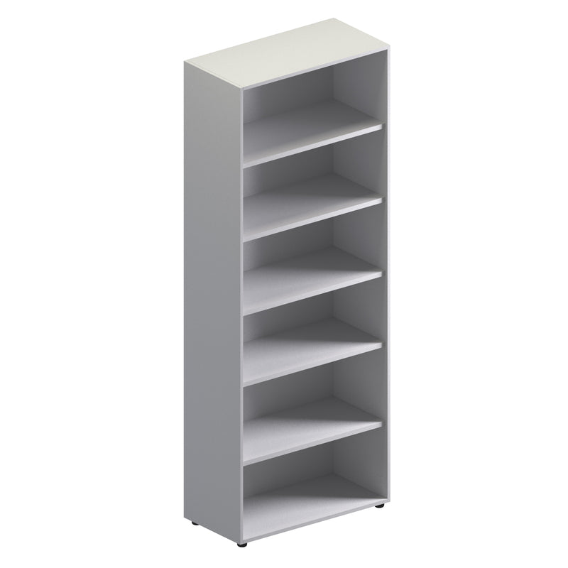 Double Unit Open Storage Cabinet - Full Height
