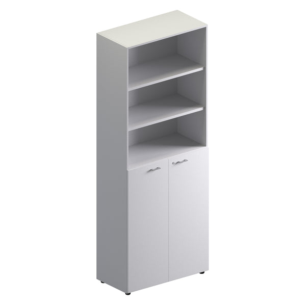 Double Unit Semi Closed Storage Cabinet -Full Height
