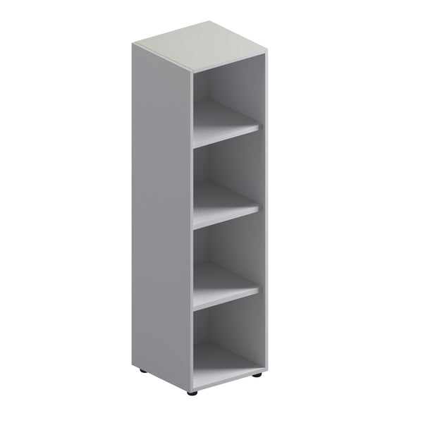Single Unit Open Storage Cabinet - Mid Height