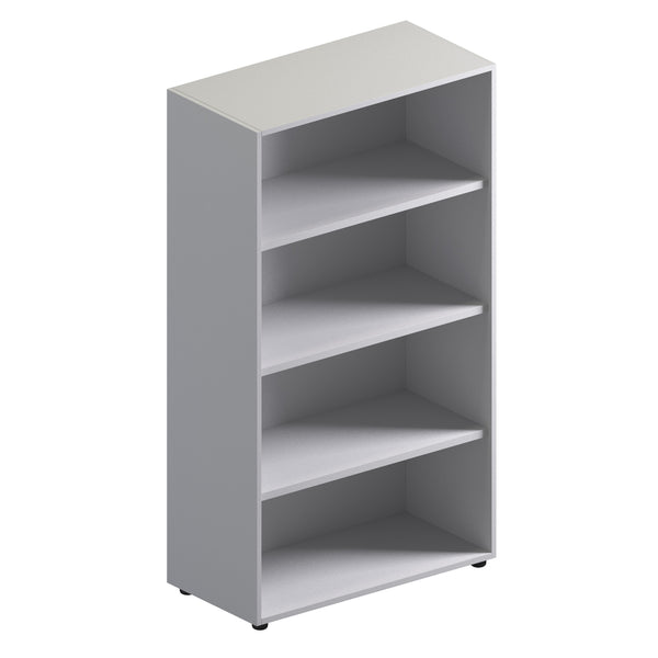 Double Unit Open Storage Cabinet - Mid Height