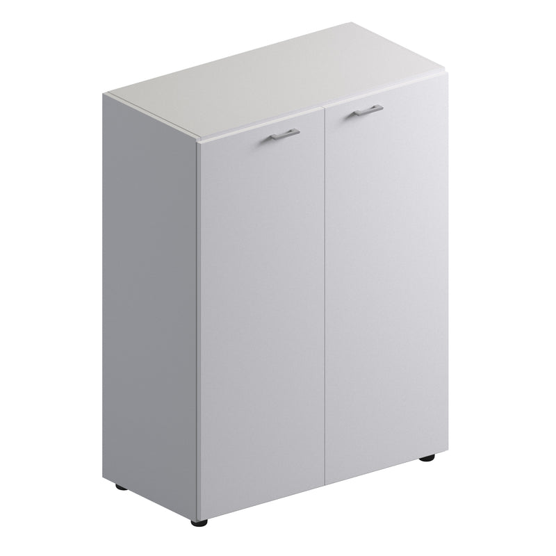 Double Unit Closed Storage Cabinet - Low Height