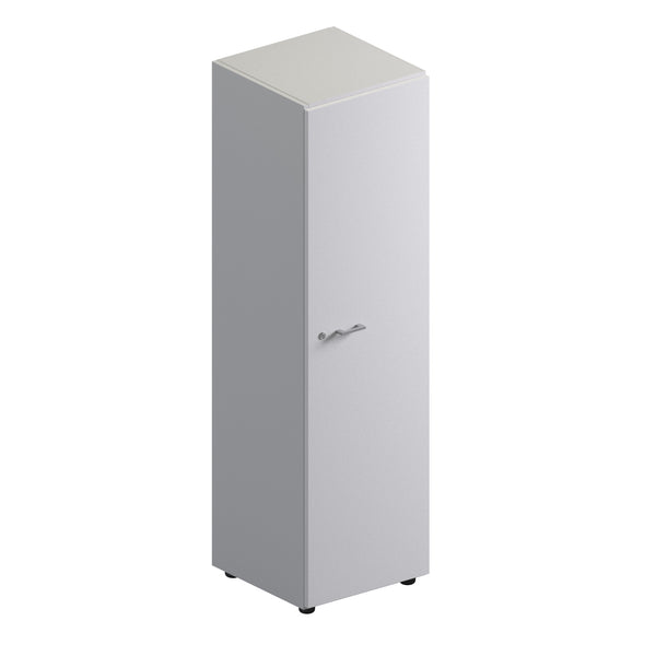 Single Unit Closed Storage Cabinet - Mid Height