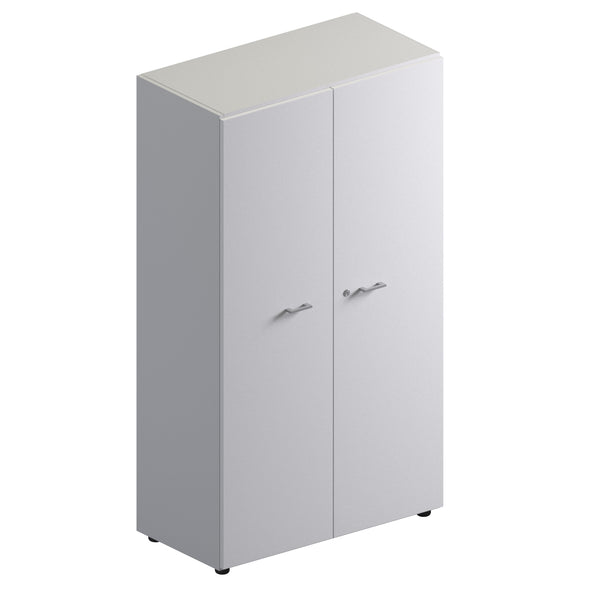 Double Unit Closed Storage Cabinet - Mid Height