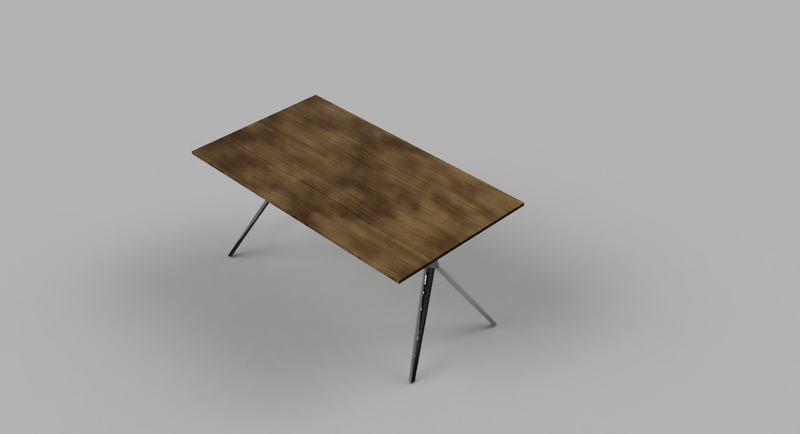 Lexington Cabin Table - Free Standing