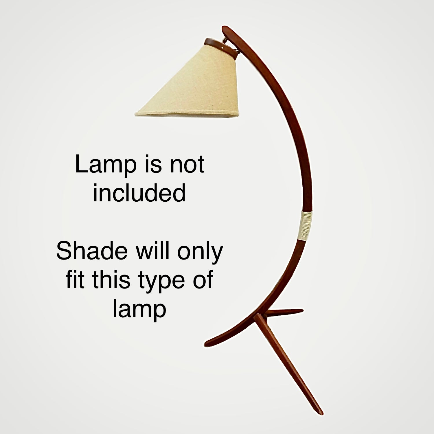 These shades will only fit this type of lamp.