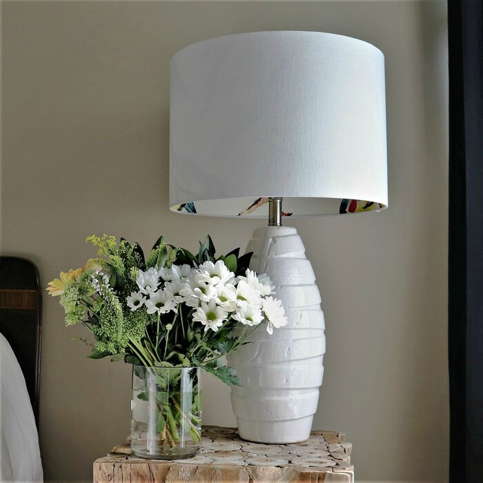 Rolled Edge Bird Lampshade