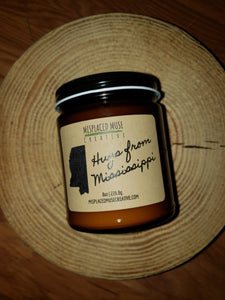 Hugs from Mississippi Candle