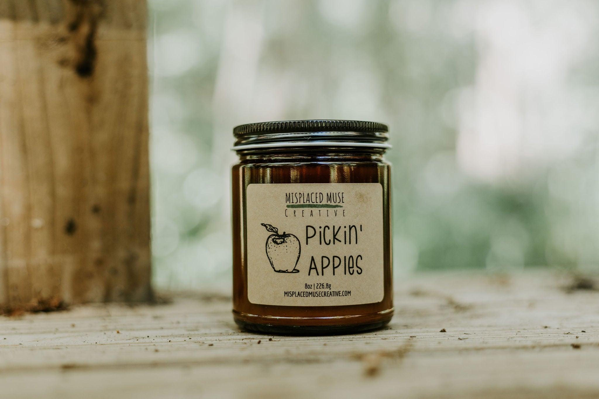 Pickin' Apples Candle