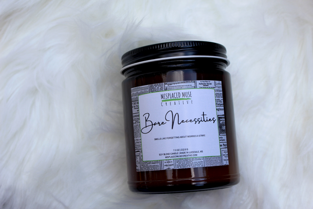 Bare Necessities Candle 1