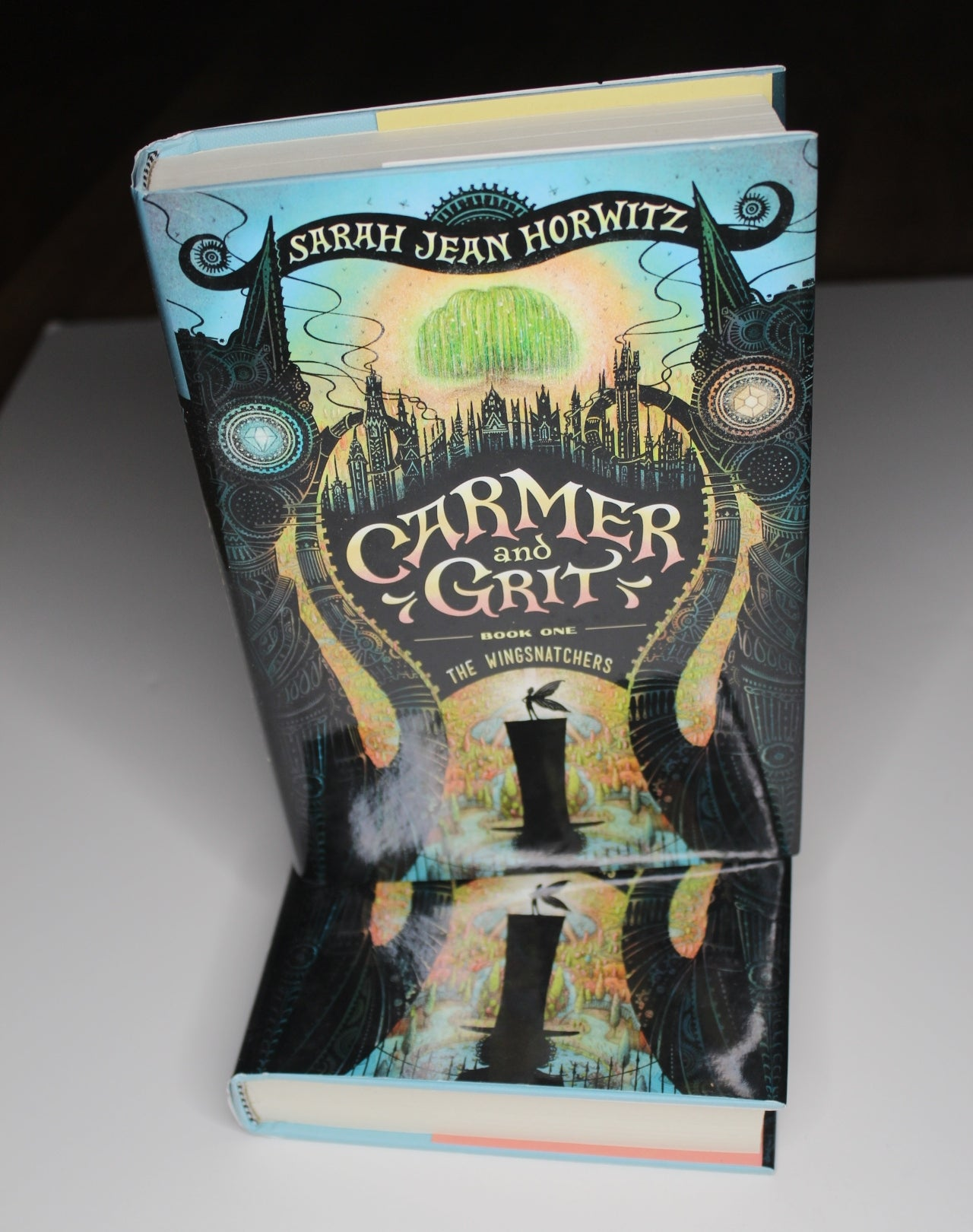 Carmer and Grit (Book One: The Wingsnatchers), by Sarah Jean Horowitz