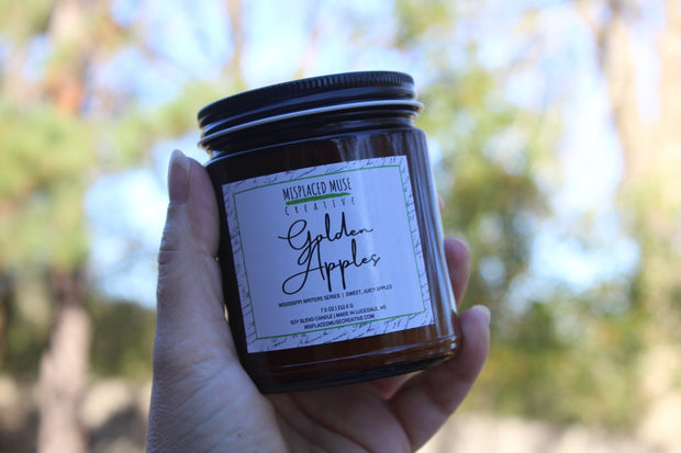 Golden Apples Candle 1