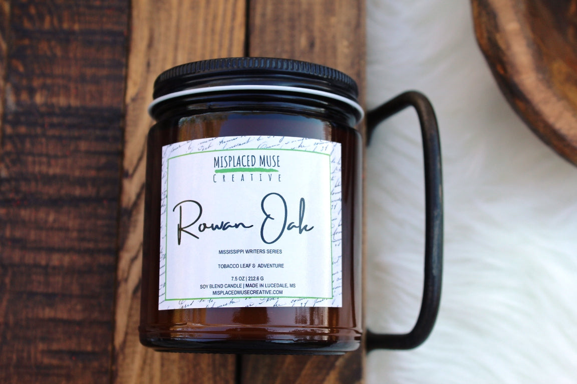 Rowan Oak Candle