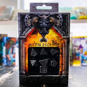 Dwarven Metal Dice Set