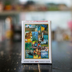Playing Cards: Fine Art Impressionism