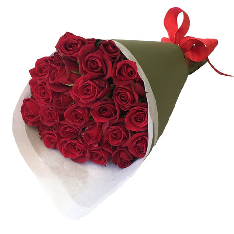 Bouquet of 24 Premium Roses