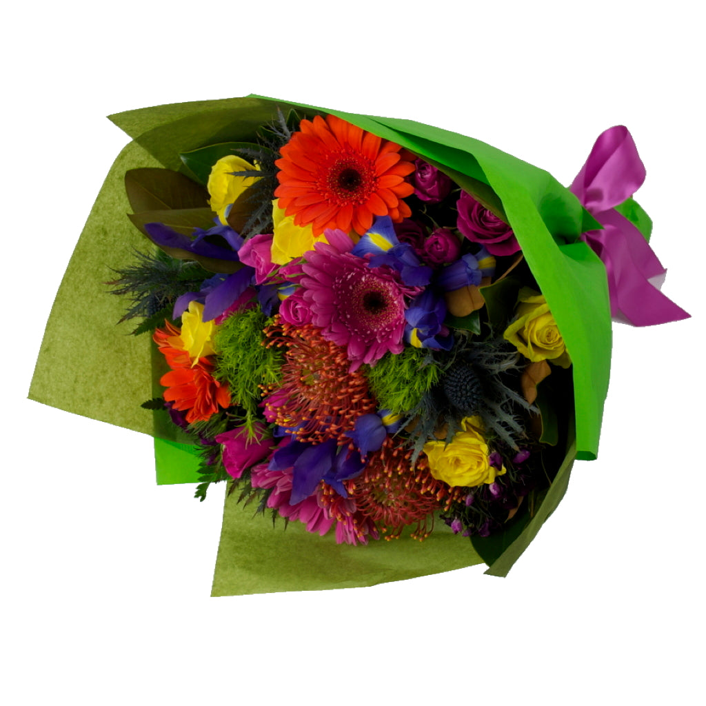 Bouquet of Bright Mixed Flowers