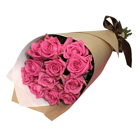 Bouquet of 12 Long Stemmed Roses
