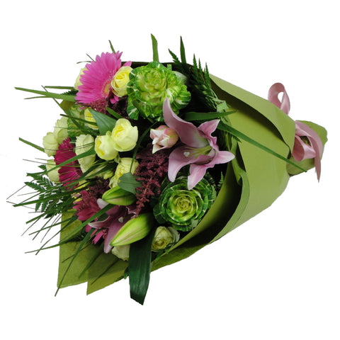 Bouquet of Mixed Pastel Flowers