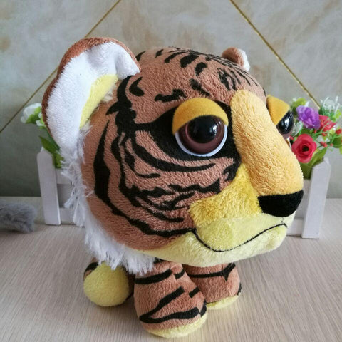 Peluche Tigre Gros Yeux