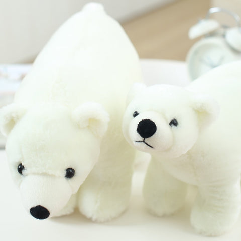 Peluche Ours Blanc mignion