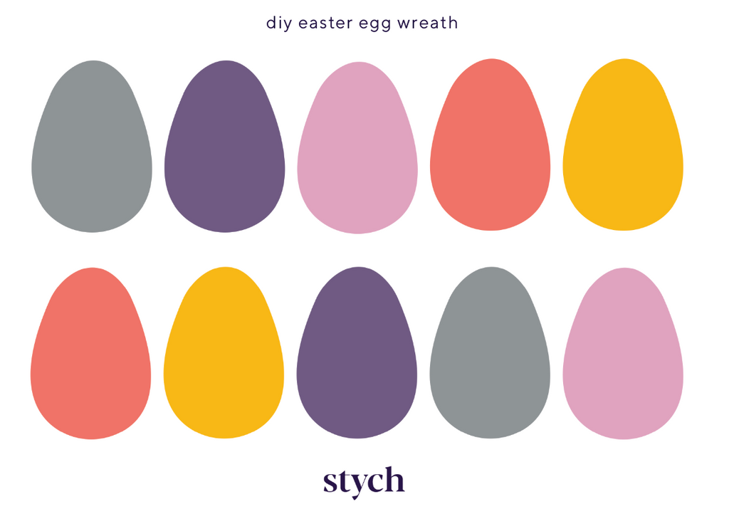 stych do-it-yourself easter wreath making