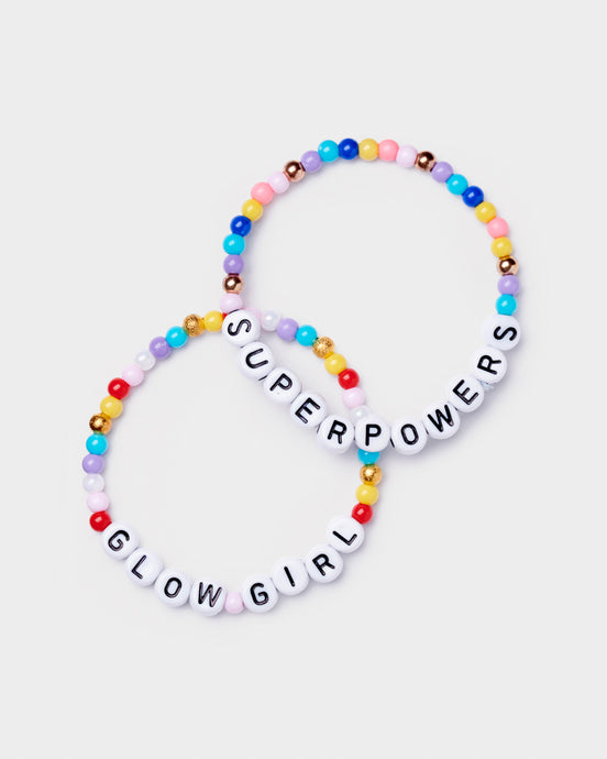 Girls gift Bracelet Glow Girl Superpowers