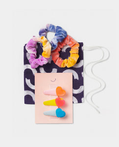 Girls Gift Set Hair clip Scrunchie